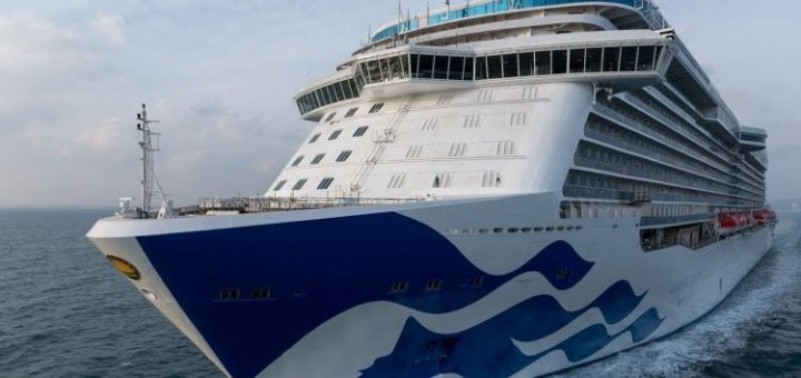M/s Majestic Princess delivered