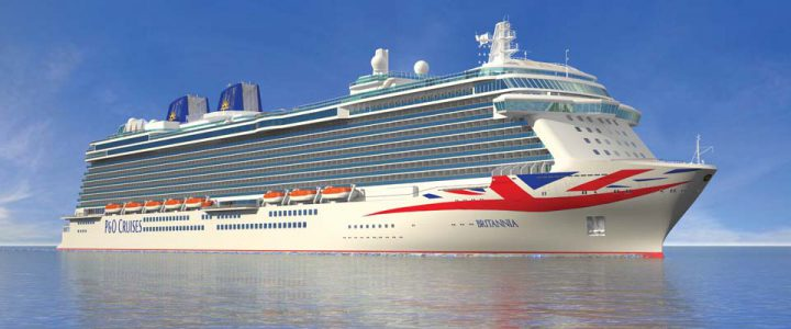 Britannia delivered to P&O Cruises